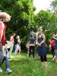 Comic-Workshop im Heinrich-Kirchner-Skulpturengarten Erlangen