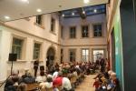 Erlangen Kunstpalais Ausstellungseröffnung Benedikt Hipp 20. September 2012
