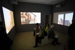 Kunstpalais Erlangen Ausstellungsdoku Afekte Ausstellungeröffnung 3. April 2014