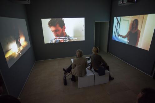 """Ausstellungsansicht """"Affekte"""", Foto: Erich Malter"""