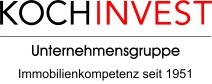 Logo KochInvest Logo rot+immobilienkompetenz