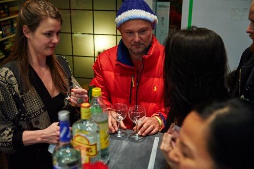 Milena Mercer (Kunstpalais) mit Juergen Teller, Foto: Markus Faber