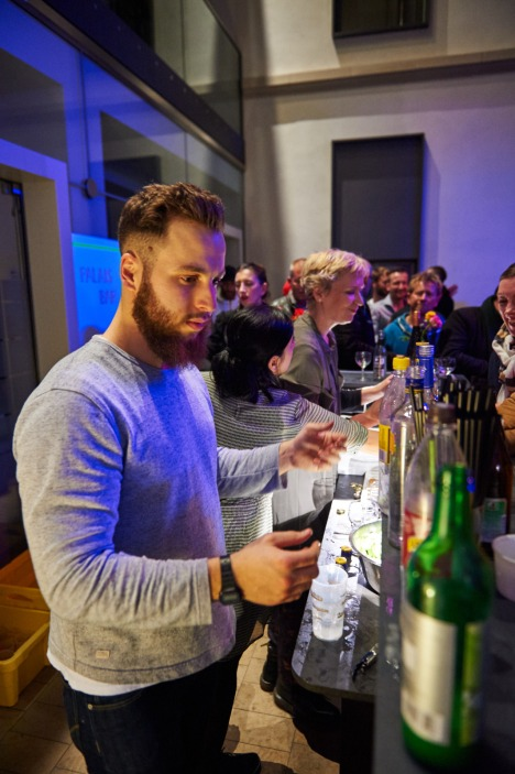 Party im Kunstpalais, Foto: Markus Faber