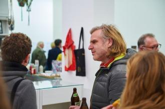 Thomas Pruss und Florian Frohnholzer (beide Grafik-Agentur Sofarobotnik), Foto: Markus Faber
