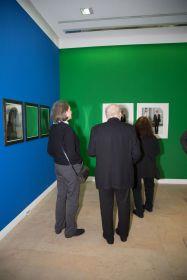 Lisa Puyplat und Karl Manfred Fischer, ehemals Leiter der Städtischen Galerie, Foto: Claudia Holzinger