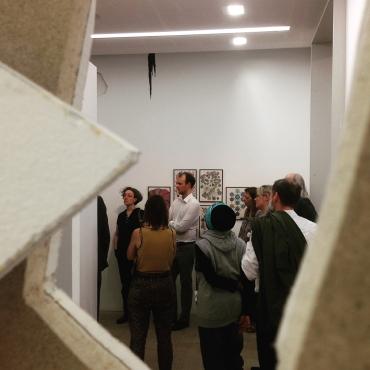 Führung durch die Ausstellung, Kunstpalais 2018