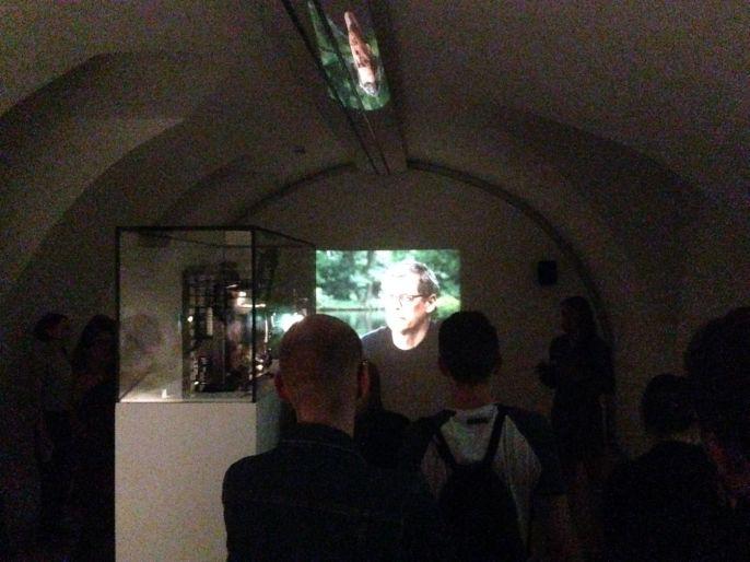 """Rodney Graham Phonokinétoscope, 2001, Führung durch""""Altered States. Substanzen in der zeitgenössischen Kunst"""""""