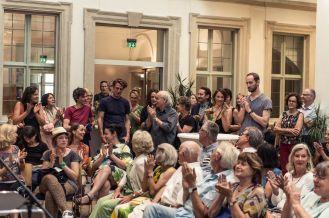 Applaus für Rinus Van de Velde (Künstler), Foto: Kilian Reil