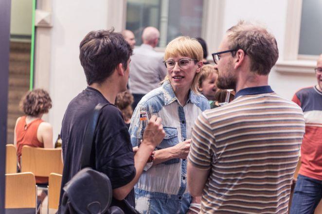 Yvonne Quirmbach (BQ Galerie, Berlin), Foto: Kilian Reil