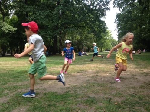 Spielen im Schlossgarten