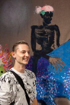 Jan Gemeinhardt (Künstler), Foto: Jonas Höschl