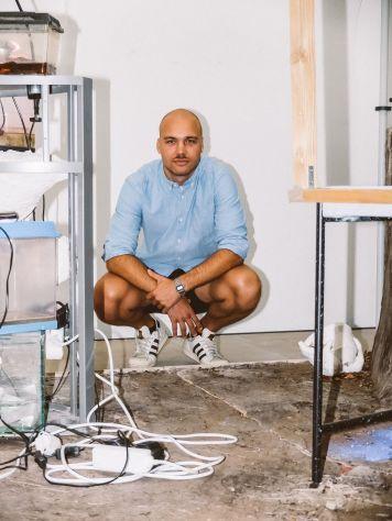 Jonas Tröger (Künstler), Foto: Frédéric Schwilden