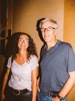 Inge Gutbrot mit Begleiter, Foto: Frédéric Schwilden