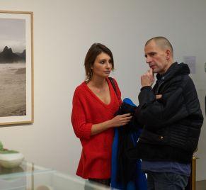 Elisa Coburger (LAMM-Lichtspiele) und Adriano Sack (DIE WELT), Foto: Markus Faber