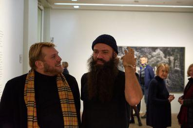 André Schlechtriem (DITTRICH & SCHLECHTRIEM, Berlin) und Julius von Bismarck, Foto: Markus Faber