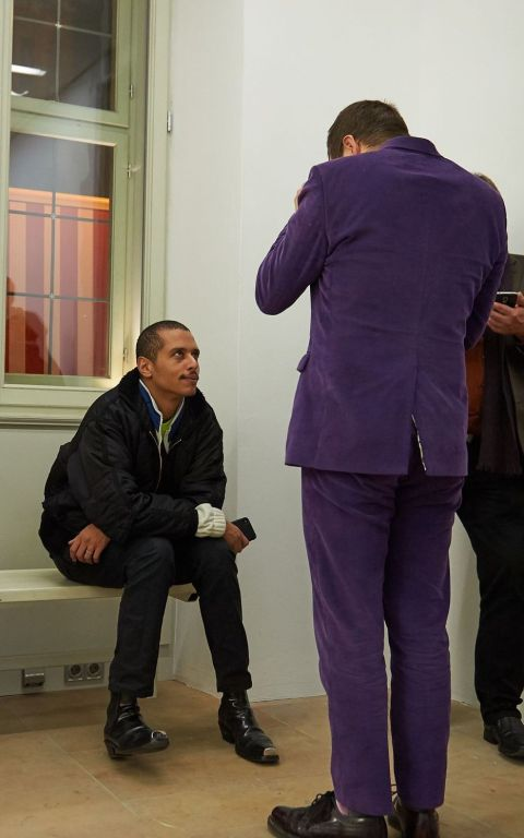 Affa Osman (Casting Director, affa osman casting) und Frédéric Schwilden (DIE WELT), Foto: Markus Faber