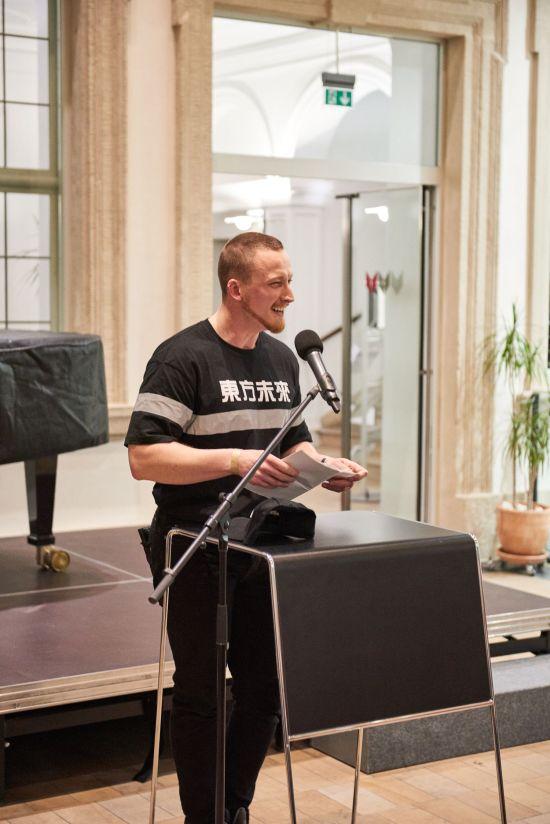 Malte Kröger, Kurator, Kunstpalais, Foto: Markus Faber