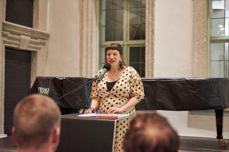Amely Deiss, Kuratorin und Leiterin des Kunstpalais, Foto: Markus Faber