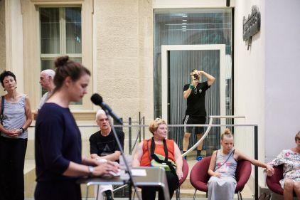 Milena Mercer, Kuratorin und kommissarische Leiterin des Kunstpalais; Foto: Markus Faber