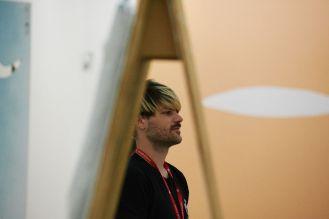Florian Meisenberg, Künstler, New York; Foto: Markus Faber