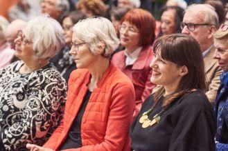 Anne Reiman, Kulturamtsleiterin, und Amely Deiss, Leiterin des Kunstpalais, Foto: Markus Faber
