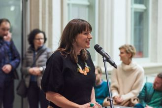 Amely Deiss, Leiterin Kunstpalais, Foto: Markus Faber