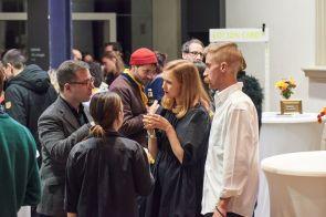 Christian Malycha, Kerber Verlag, Grace Weaver, Künstlerin, und Eric Degenhardt, Fotograf, Foto: Markus Faber