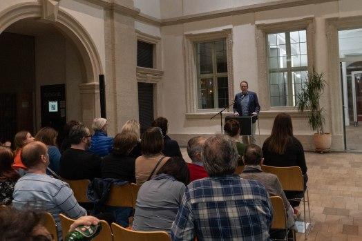 Dr. Florian Janik, Oberbürgermeister der Stadt Erlangen, Foto: Kimberly Banschbach