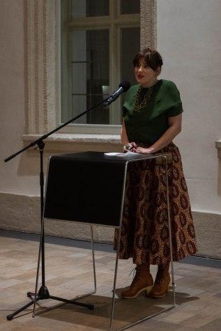 Amely Deiss, Leiterin des Kunstpalais, Foto: Kimberly Banschbach