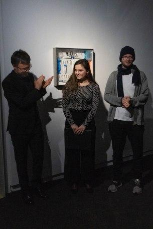 Live-Performance Esteban Dominguez-Gonzalvo (Piano), Lou Denès (Sopran), Andreas Greiner, Künstler, Foto: Kimberly Banschbach