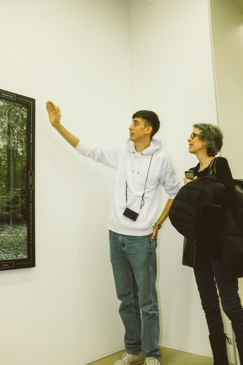 Paul Kolling, Künstler, Foto: Frédéric Schwilden